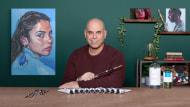 """Ritratti espressivi a olio: impara a dipingere """"alla prima"""". Un corso di Illustrazione di A.J. Alper"""