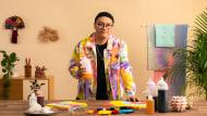 Teinture tie and dye : mettez de la couleur dans vos vêtements. Un cours de Craft de Peter Wasp