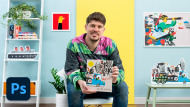 Children's Picturebooks with Digital Techniques. A Illustration course by Guilherme Karsten