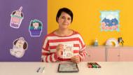 Illustration kawaii : créez d'adorables personnages. Un cours de Illustration de Ilaria Ranauro