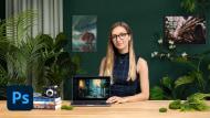 Illustrazione digitale cinematografica con Photoshop . Un corso di Illustrazione di Izzy Burton