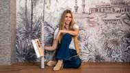 Aplicación de papel pintado para diseñar espacios. Un curso de Arquitectura, Espacios y Craft de Carol Botin Fernandez