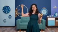 Bluework: cianotipia e bordado. Um curso de Craft de Bugambilo