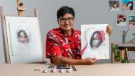 Retrato con técnicas mixtas: captura emociones y expresiones. Un curso de Ilustración de Daniel Segrove