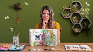 Diario naturalista ad acquerello. Un corso di Illustrazione di Berta Llonch