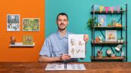 Creación de personajes para libros ilustrados con acuarelas. Un curso de Ilustración de Lorenzo Sangió