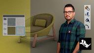 Initiation à Rhinoceros 3D pour la conception de meubles. Un cours de 3D , et Animation de Christian Vivanco