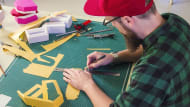 Lettering a todo volumen. A Craft, Calligraph, , T, and pograph course by Lobulo