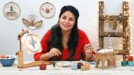 Pintar con hilo: técnicas de ilustración textil. A Craft course by Gimena Romero