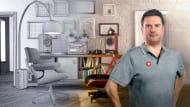 Diseño de escenarios CGI en miniatura. A 3D, and Animation course by Javier Leon