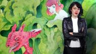 Animalario botánico: acuarela, tinta y grafito. Un curso de Ilustración de Violeta Hernández