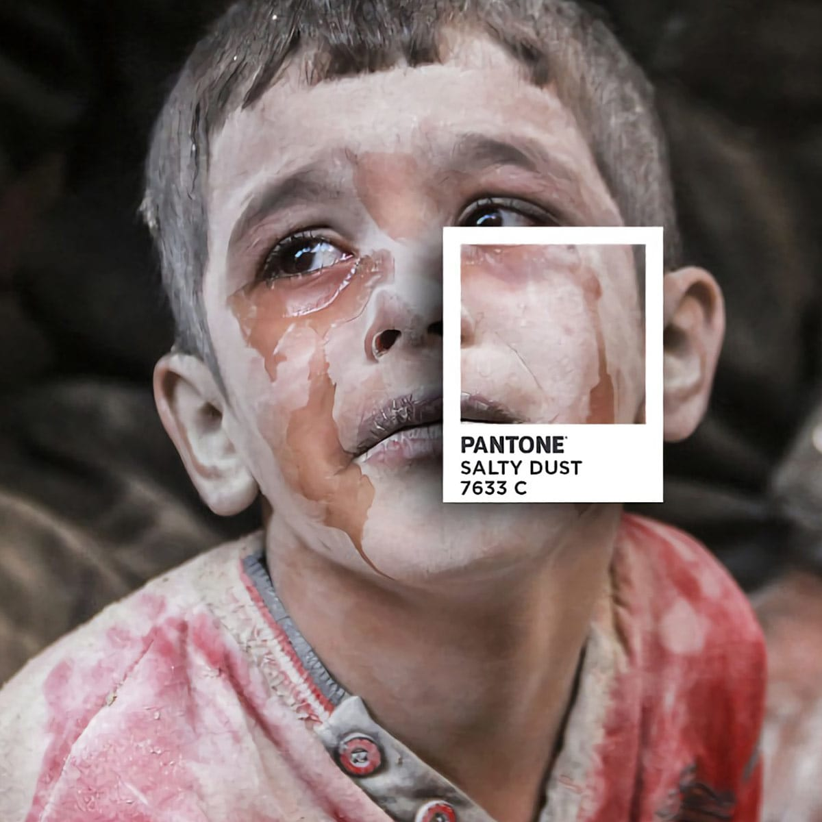 Pantones para no olvidar la realidad siria