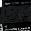 Tropart. Un progetto di Design , e Sviluppo software di Caracool - 26.06.2009