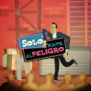 Solo ante el peligro. A Design, Illustration, Advertising, Motion Graphics, Film, Video, and TV project by Vicente Mallols - 08.01.2009