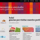 unestudio website. Um projeto de Design e Desenvolvimento de software de Lucía Guedes de Rezende - 06.05.2010