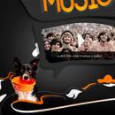 Seeing music. Um projeto de Design, Ilustração, Publicidade e Fotografia de Javier Alejandro Milla Muñante - 26.11.2011