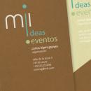 mil ideas mil eventos. Un proyecto de Diseño de sonia gandasegui - 05.10.2012