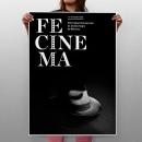 propuesta cartell fecinema Manresa. Un progetto di Design di Tomás Castro - 20.11.2012