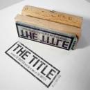 The Title. Un proyecto de Diseño, Cine, vídeo y televisión de Barfutura - 14.03.2012
