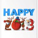 Happy Xmas!. Um projeto de Design, Ilustração e 3D de Santiago Manzi - 18.12.2012