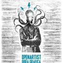 Cartel Serigrafía Openartist. A Design project by Fotógrafo y diseñador freelance - 01.29.2013