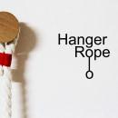 Hanger Rope - Perchero de pared. Un progetto di Design, Artigianato, Design di mobili, Design industriale , e Product Design di Pepe Sanmartín - 09.06.2013