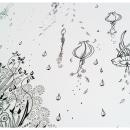 El nacimiento de un Pavo Real. Um projeto de Ilustração e Design de Carolina Galia Hernández - 04.07.2013