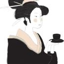 Tea Gesishas. Um projeto de Design e Ilustração de Laura Minimalia - 28.09.2013