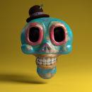 DIA DE LOS MUERTOS // BOCETOS. Un proyecto de Diseño, Ilustración y 3D de Javier Verdugo - 25.11.2013