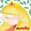 Sticker personalizado para Nutella. Um projeto de Design e Ilustração de Iván Villarrubia - 06.12.2013