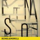 RETINES SONORES '08. Um projeto de Design e Motion Graphics de Eduardo Crespo - 12.12.2013
