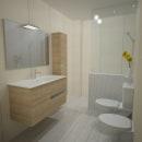 AM BATH · baño. Un proyecto de 3D, Arquitectura interior y Diseño de interiores de maria bermúdez - 02.03.2014