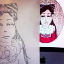 Retratos. Um projeto de Ilustração de Sara I. Toribio - 14.03.2014