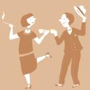 Happy prohibition!. A Illustration project by paulapé - 04.07.2014