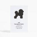 Leo - Perruqueria Canina. Um projeto de Design, Br, ing e Identidade, Design gráfico e Arquitetura da informação de Anna Pigem - 31.12.2013
