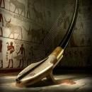 Reconstrucción 3D de Arpa del Antiguo Egipto. Um projeto de 3D e Design de cenários de Manuel Moreno Vela - 20.04.2014
