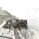 Restaurante y escuela de cocina para ARZAK | Fin de carrera. Um projeto de 3D, Arquitetura e Culinária de Leo Tabares de Nava - 28.04.2014