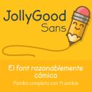JollyGood Sans- muera comic sans!. Um projeto de Design e Tipografia de Kemie Guaida - 04.05.2014