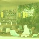 CAFETERÍA FUNDACIÓN TELEFÓNICA. Um projeto de Instalações, 3D, Arquitetura, Design industrial, Arquitetura de interiores e Design de interiores de Cristina Barroso Izquierdo - 08.09.2013