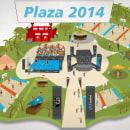 CaixaBank Plaza. Um projeto de Ilustração de Gustavo Arens - 14.02.2014
