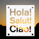 Hola! Salut! Ciao!. A Photograph, Graphic Design, T, and pograph project by Tere Lari - 03.23.2013