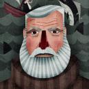 Ernest. Un proyecto de Diseño, Ilustración, Diseño de personajes, Diseño editorial y Diseño gráfico de Nicolás Aznárez - 24.06.2014