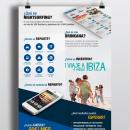 Póster que explica un servicio a potencias clientes. Um projeto de Design, Design gráfico e Publicidade de Raphaella Contreiro - 29.06.2014