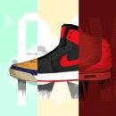 Sneaker Coolture (Weekly Project - 025/053). Un proyecto de Ilustración, Dirección de arte y Diseño gráfico de Noem9 Studio - 22.07.2014
