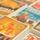 Traditional recipes postcards. Um projeto de Design de produtos e Design gráfico de Yema - 23.07.2014