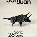 Cartel Fiestas de San Juan de Soria. Un proyecto de Diseño, Publicidad, Fotografía y Diseño gráfico de Paloma G - 12.08.2014