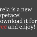 Brela Regular (Tipografía Gratuita). Um projeto de Design gráfico e Tipografia de Makarska Estudio - 31.08.2014