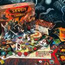 Seven Swords - Diseño y producción de juego de mesa. Um projeto de Design, Direção de arte, Packaging e Design de produtos de Alberto González - 05.09.2014