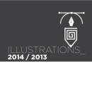 Illustrations 2014 / 2013. Um projeto de Ilustração de Santiago Manzi - 08.04.2014