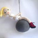 Miley Cyrus. Um projeto de Artesanato e Design de brinquedos de Carmen Luque - 21.10.2014